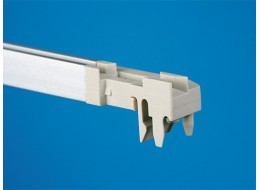Aluminium guide rail end pieces front & rear (pk 10)