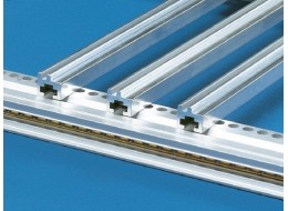 Aluminium guide rail 1m length (single)