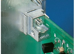 PCB holder to front panels with handle types I,II,IV,Ivs, VII (pk 10)